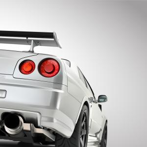 Cars Skyline Vector: Nissan Gt R R Z Tune