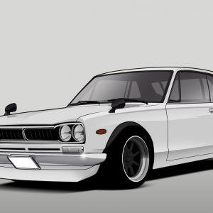 Cars Skyline Vector: Nissan Skyline Gt R Z Tune