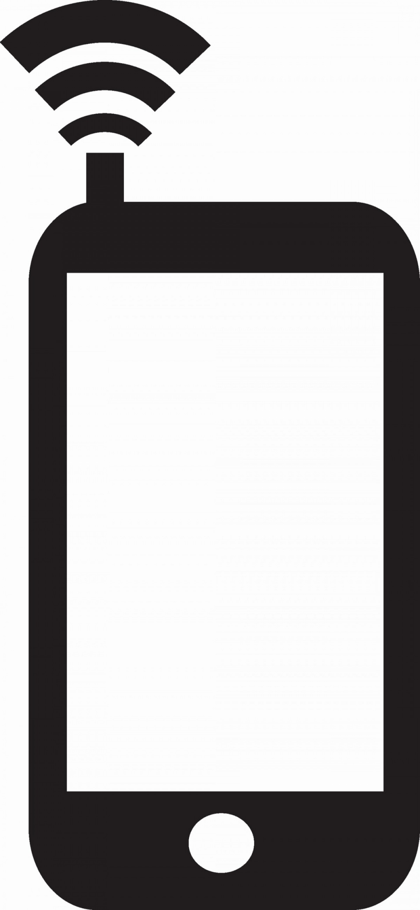 White IPhone Vector Png: No Cell Phone Icon Awesome Iphone Icon Free Png And Vector
