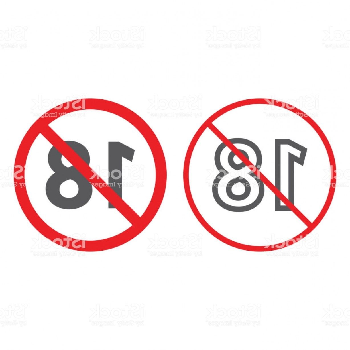 Vector Ban Plus: No Plus Line And Glyph Icon Prohibited And Ban Age Restriction Sign Vector Gm