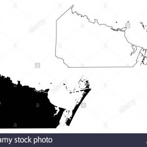 Vector Us Map Of States: Nueces County Texas Counties In Texas United States Of Americausa Us Us Map Vector Illustration Scribble Sketch Nueces Map Image