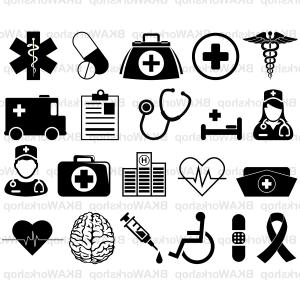 Nurse Vector Art SVG: Nurse Svg Nurse Svg File Nurse Clip Art Doctor Svg Nursing Svg Stethoscope Svg File