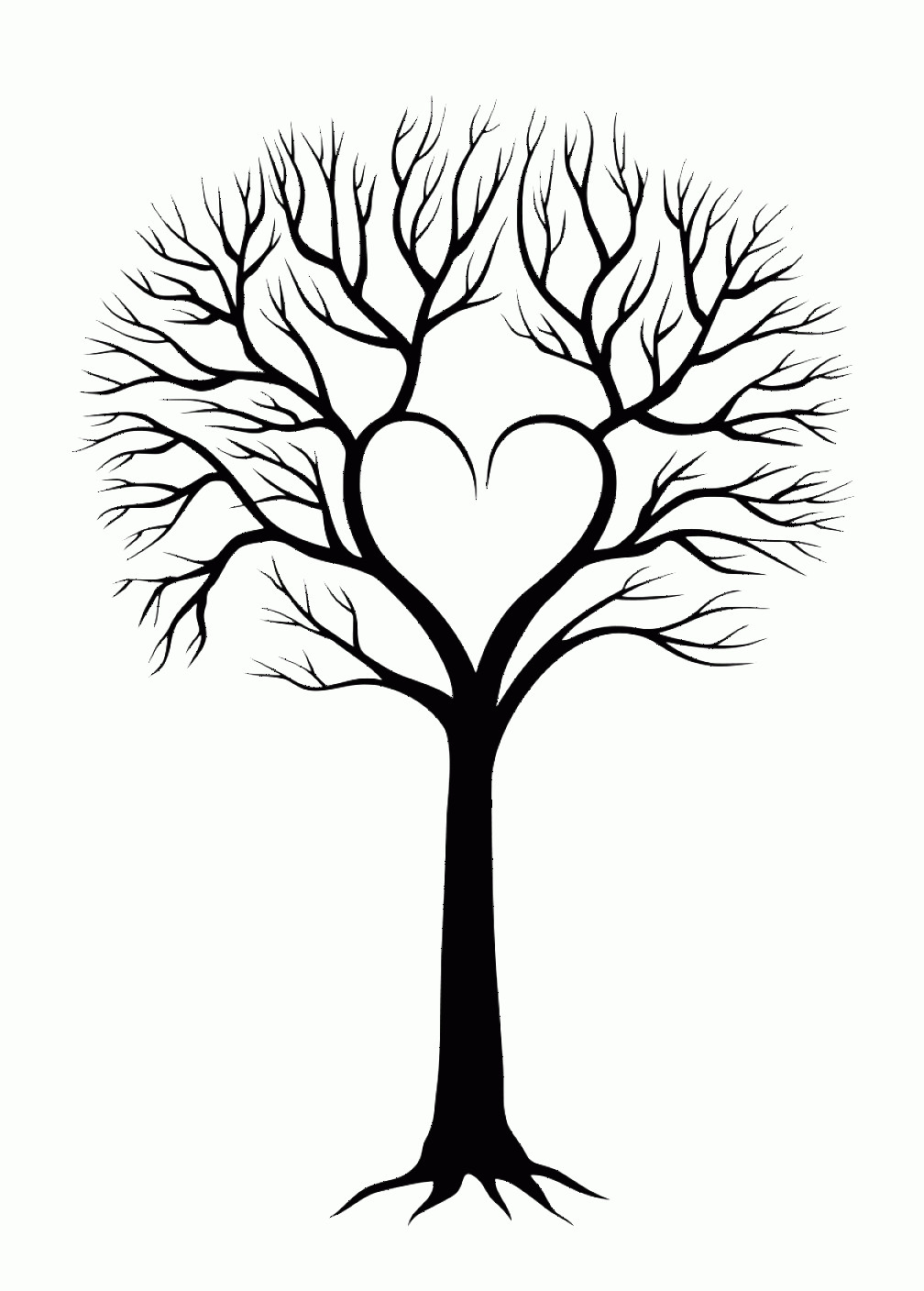 Vector Tree With Roots Drawing: Oak Tree And Roots Vector Illustration Inside Tree With Roots Tree With Roots Clipart