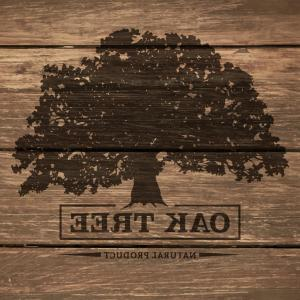Oak Tree Silhouette Vector Graphics: Oak Tree And Grass Silhouette Gm