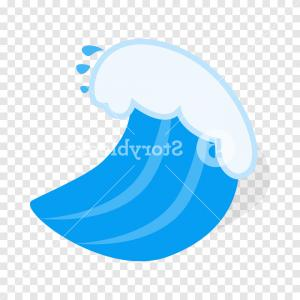Handshake Vector No Background: Ocean Wave Isometric Icon D On A Transparent Background Vector Illustration R Yjmemjiopdtl