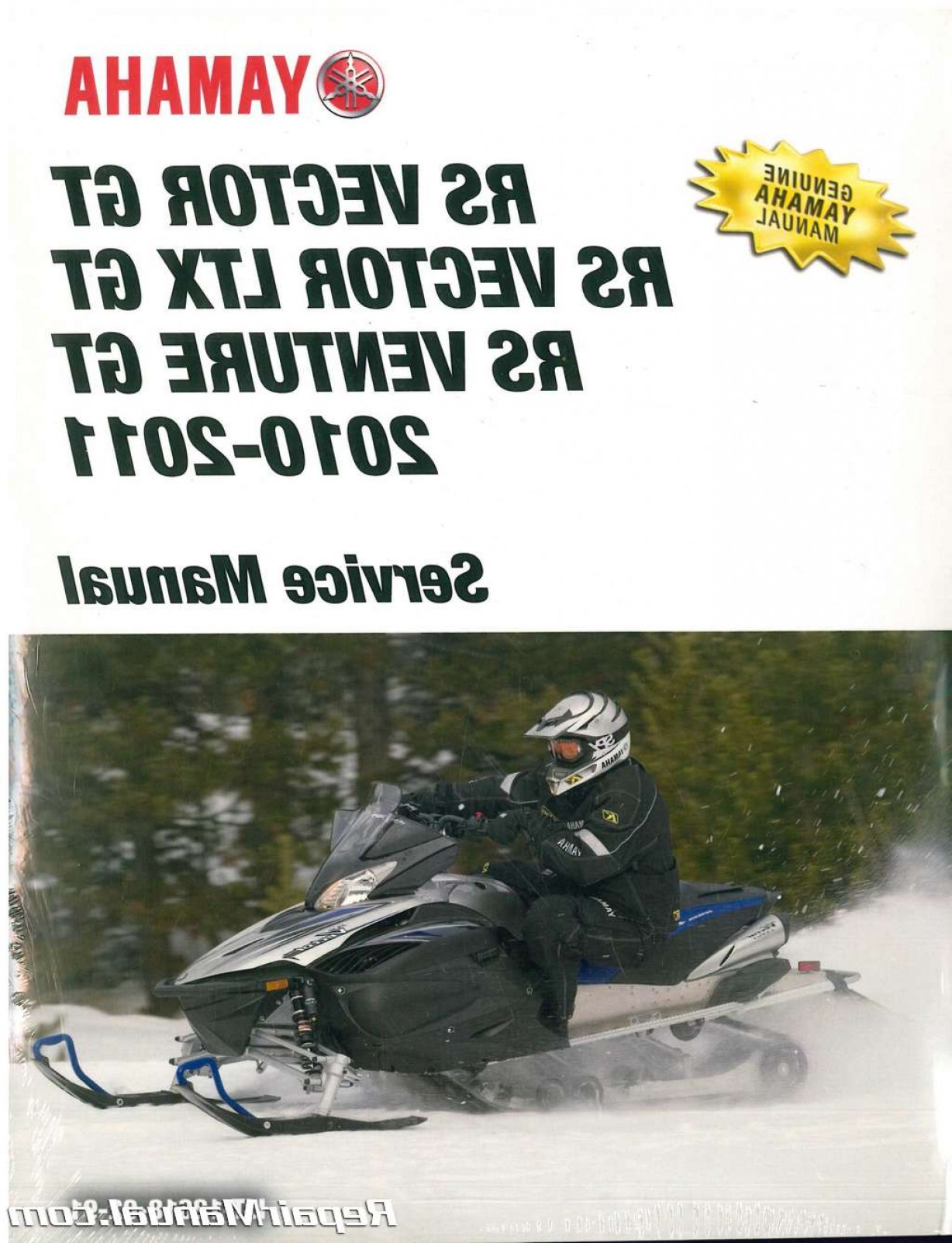 2011 Yamaha Vector Black: Official Yamaha Rs Vector Gt Ltx Gt Rs Venture Gt Snowmobile Factory Service Manual Lit