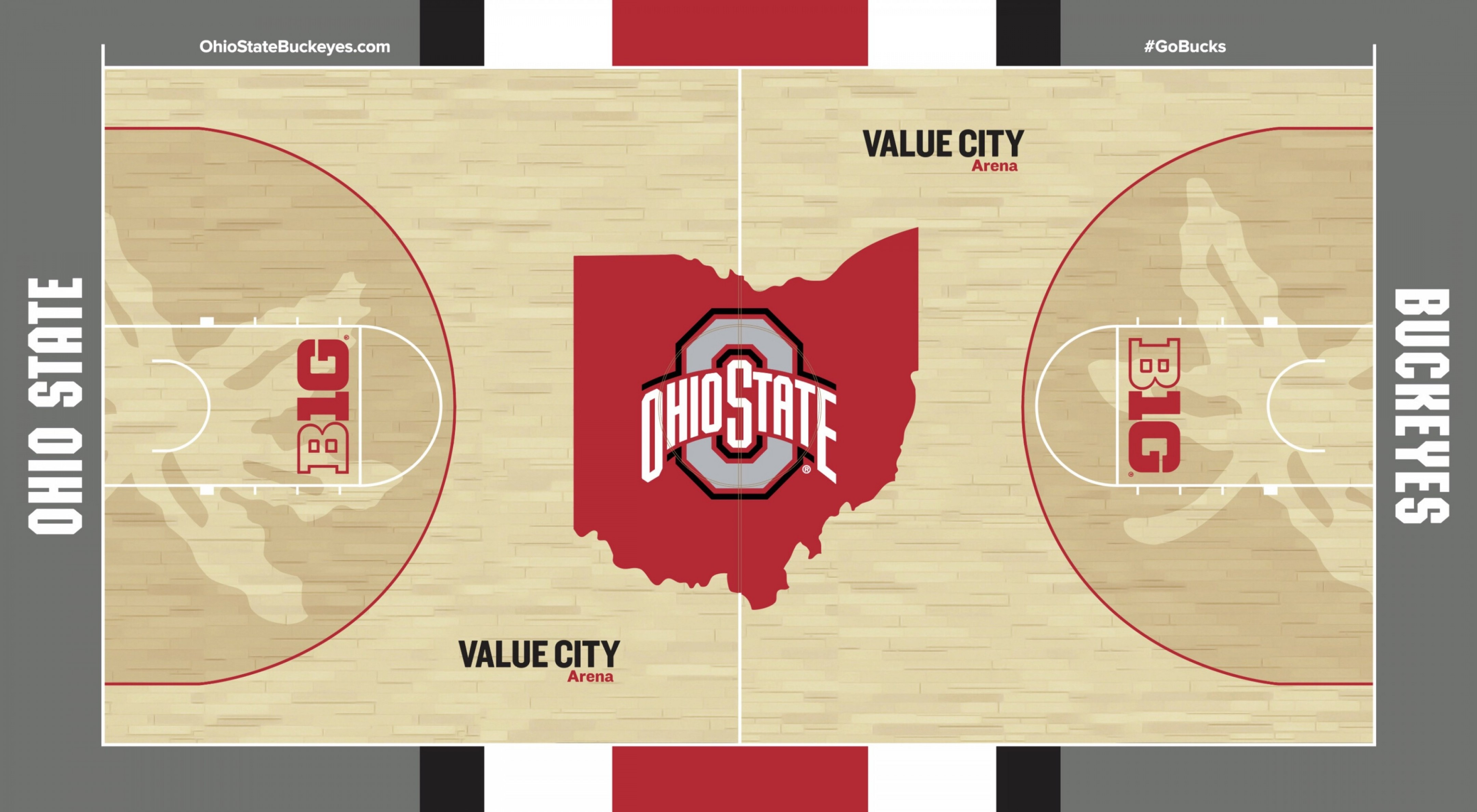 Buckeye Ohio State Outline Vector: Ohio State Basketballs New Court Should Be