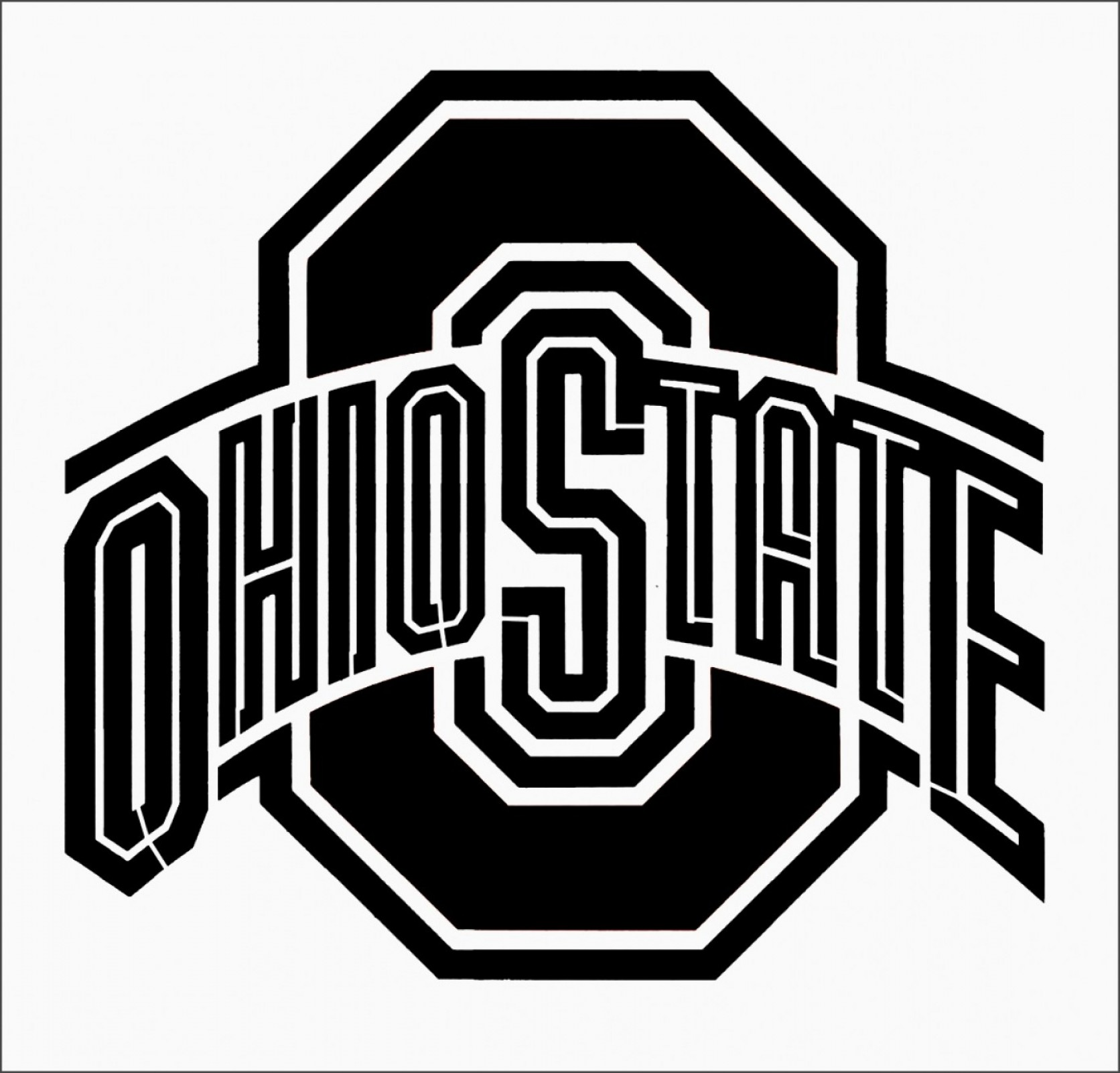 Buckeye Ohio State Outline Vector: Ohio State Logo Vector Xwhfg New Best S Of Osu Logo Stencil Ohio