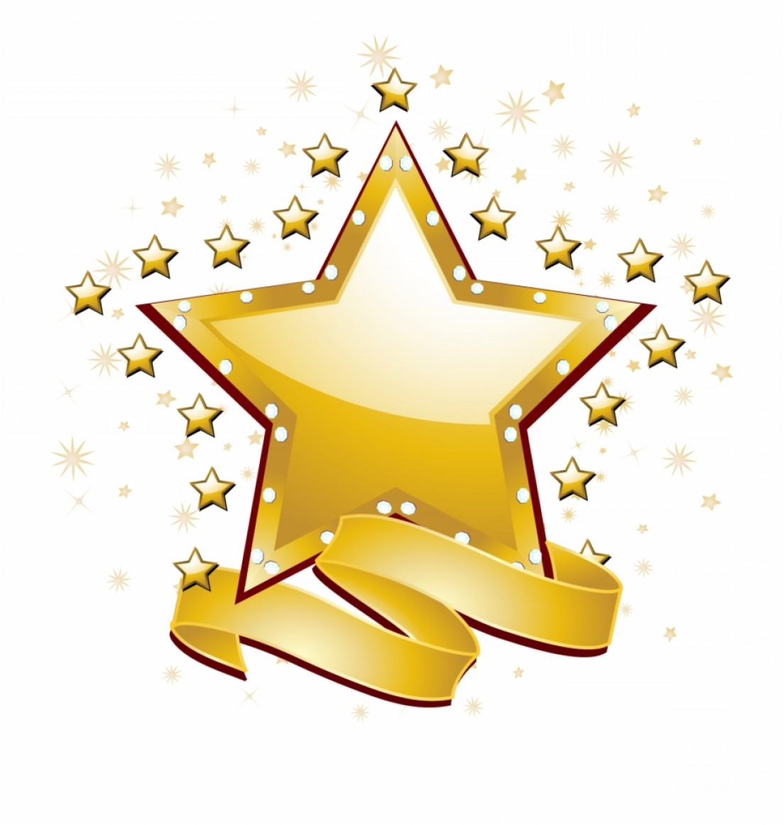 Free Vector Star: Oiriijfree Star Vector Jpg Library Library Gold Star