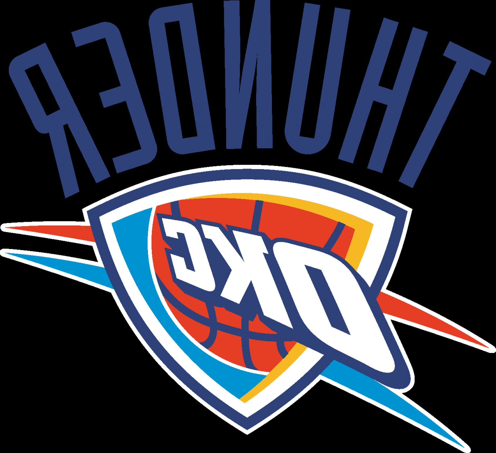 Vector NBA LogoArt: Oklahoma City Thunder Logo Eps File