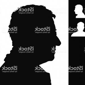 Old Man Silhouette Vector: Old Man Head Silhouette Gm