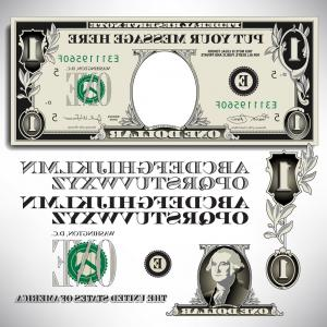 Vector Currency Parts: Accounting Infographic With Steps Parts Options Gm