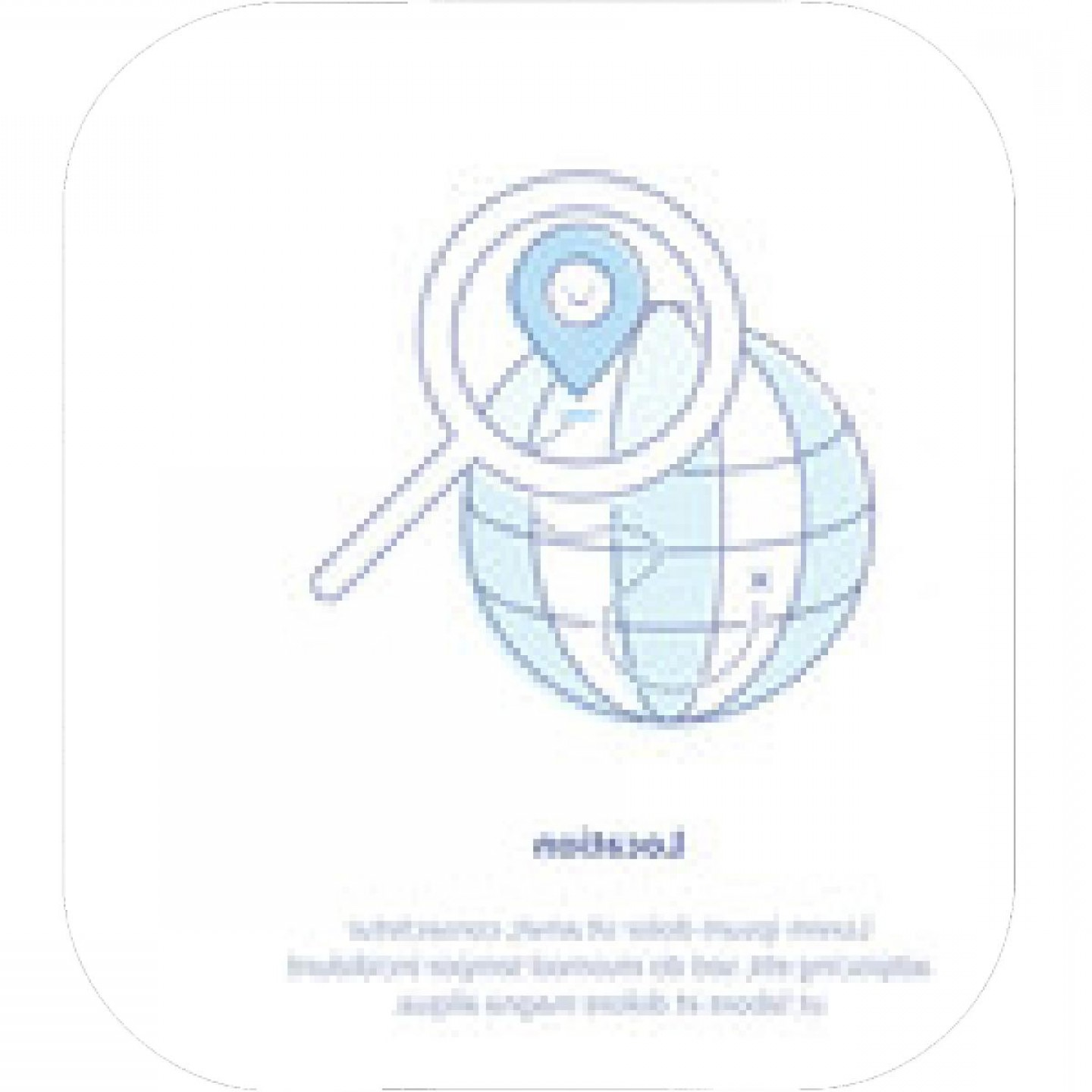 Geo-Tracking Vector: Opened Package Box With Map Pointer Icon