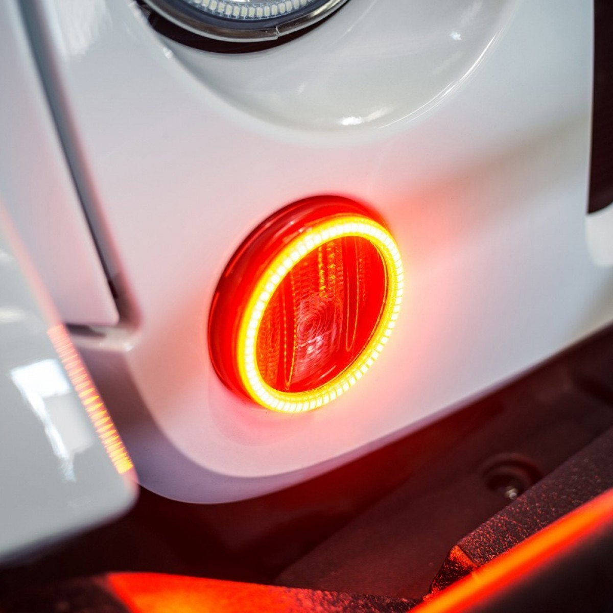 2014 Jeep Wrangler Vector: Oracle Jeep Wrangler Oracle Amber Led Waterproof Turn Signal Halo Kit