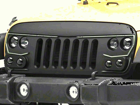 Vector Jeep JK: Oracle Vector Series Replacement Led Grille Jk