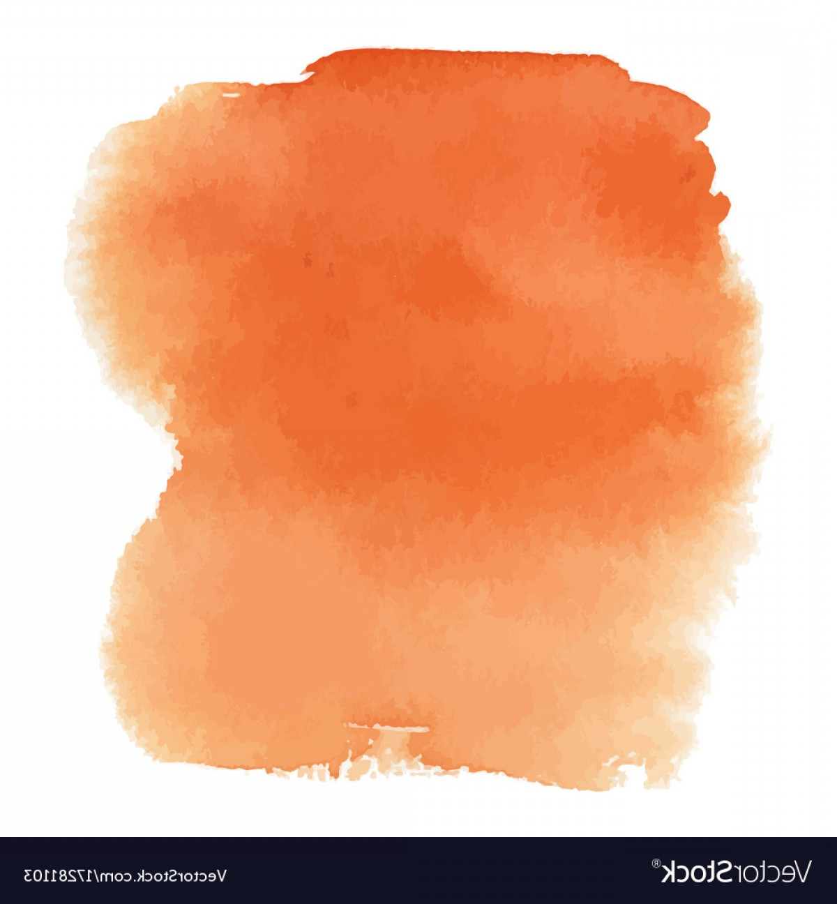 Orange Watercolor Vector Free: Orange Watercolor Gradient Background Vector