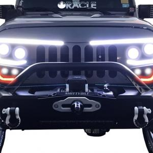 Vector Jeep JK: Give Your Jeep Wrangler A New Look With The Vector Proseries Led Grille