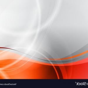 Grey Waves Vector: Abstract Grey Wave Background Design