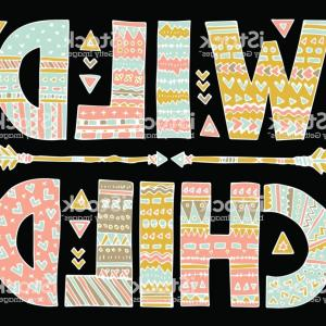 Vector Boho Arrow Strength: Arrow Clipart Commercial Use Arrow Svg