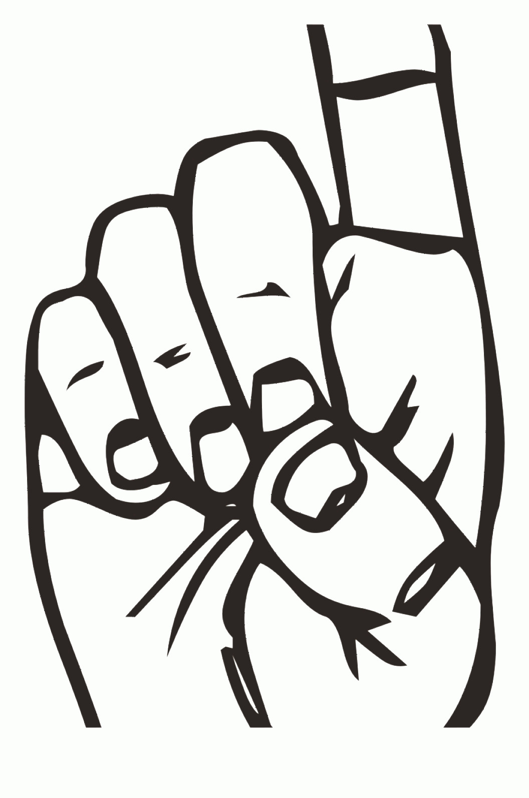 Vector Cartoon Hand Pointing Left: Otwbwdownload Finger Pointing Up Clip Art Clipart Index