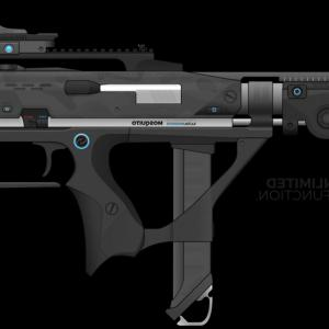 Ghosts Vector CQB: Airsoft Gi Custom M Grey Ghost Aeg Airsoft Gun