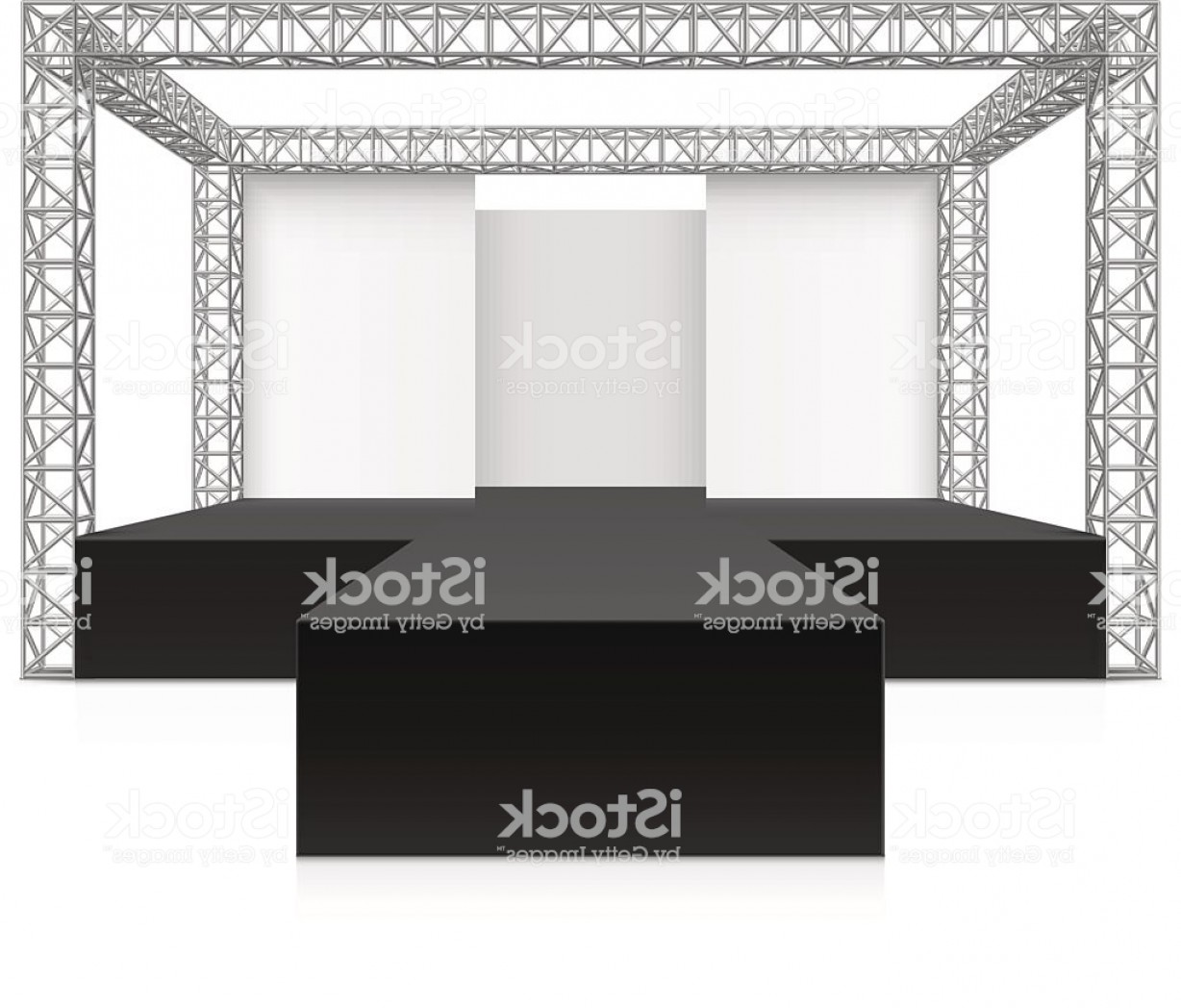 Aluminum Truss Design Vector: Outdoor Festival Stage Podium Metal Truss System Gm