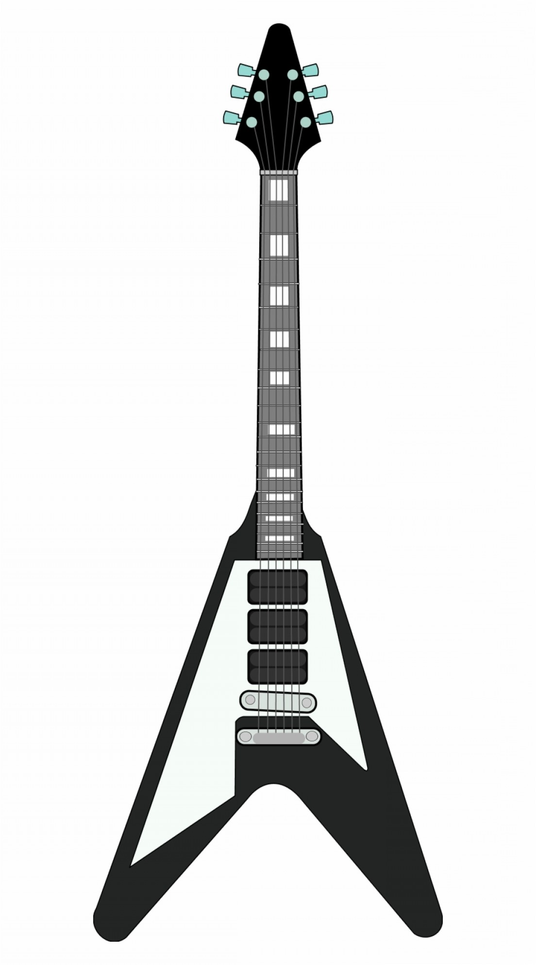 Vector Guitar Clip Art Black And White: Oxororguitar Black And White Black And White Guitar