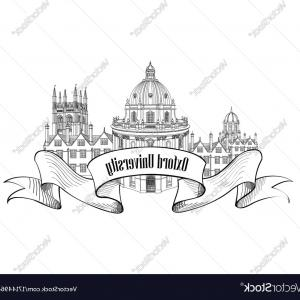 UK Skyline Vector: Cambridge England City Skyline Silhouette Vector