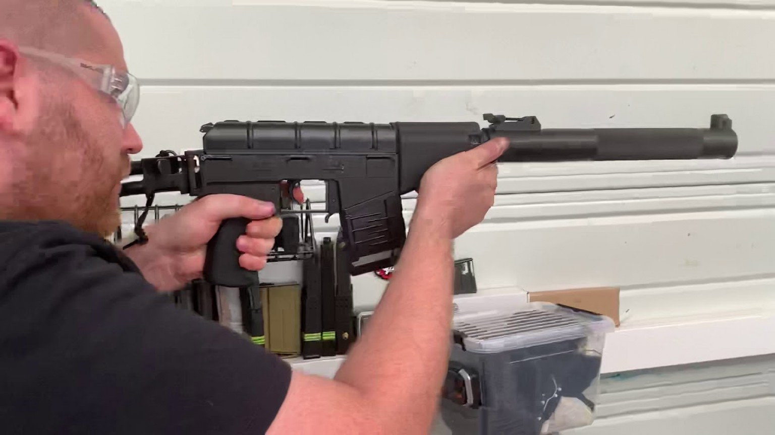 Custom Kriss Vector Airsoft Firing: P Vss Vintorez Titan Custom Aeg