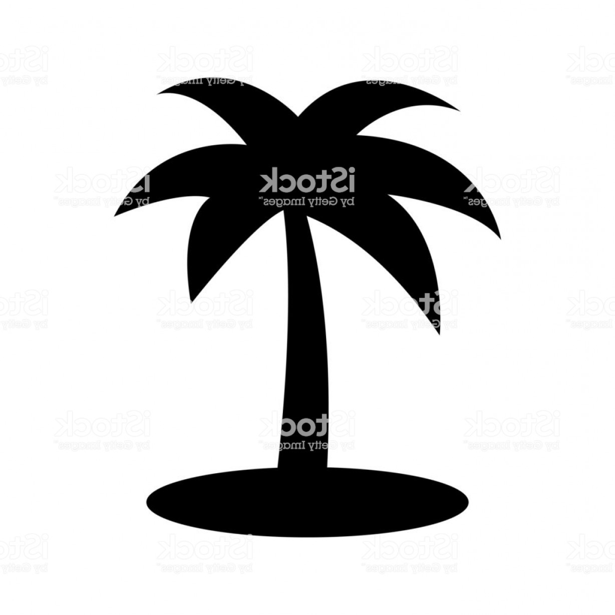 Simple Palm Tree Vector: Palm Tree Icon Simple Illustration Of Palm Tree Vector Icon For Web Gm