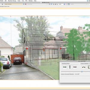 Vectorworks Architect 2013: Panzercads Cameramatch Is Now Available For Vectorworks