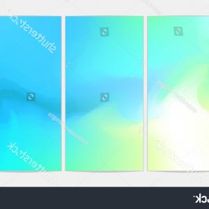 Soft Backgrounds Vector: Paper Sheets Set Blurred Soft Backgrounds