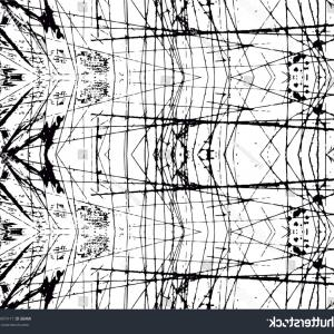 Black Abstract Lines Vector: Photostock Vector Abstract Technology Lines Vector Seamless Pattern