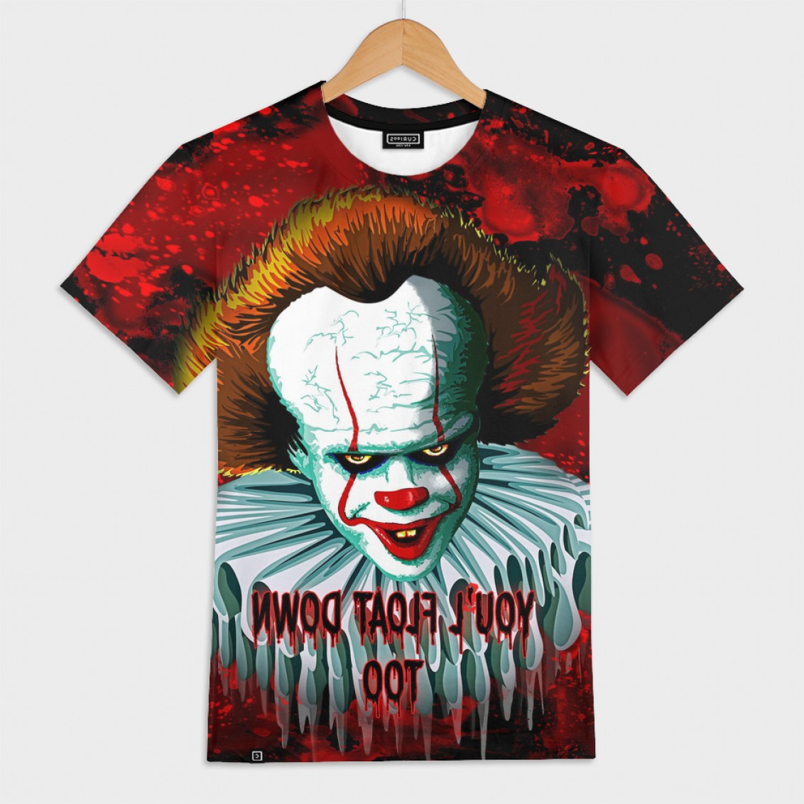 Pennywise Clown Vector: Pennywise It Vector Graphics Artwork Based On It