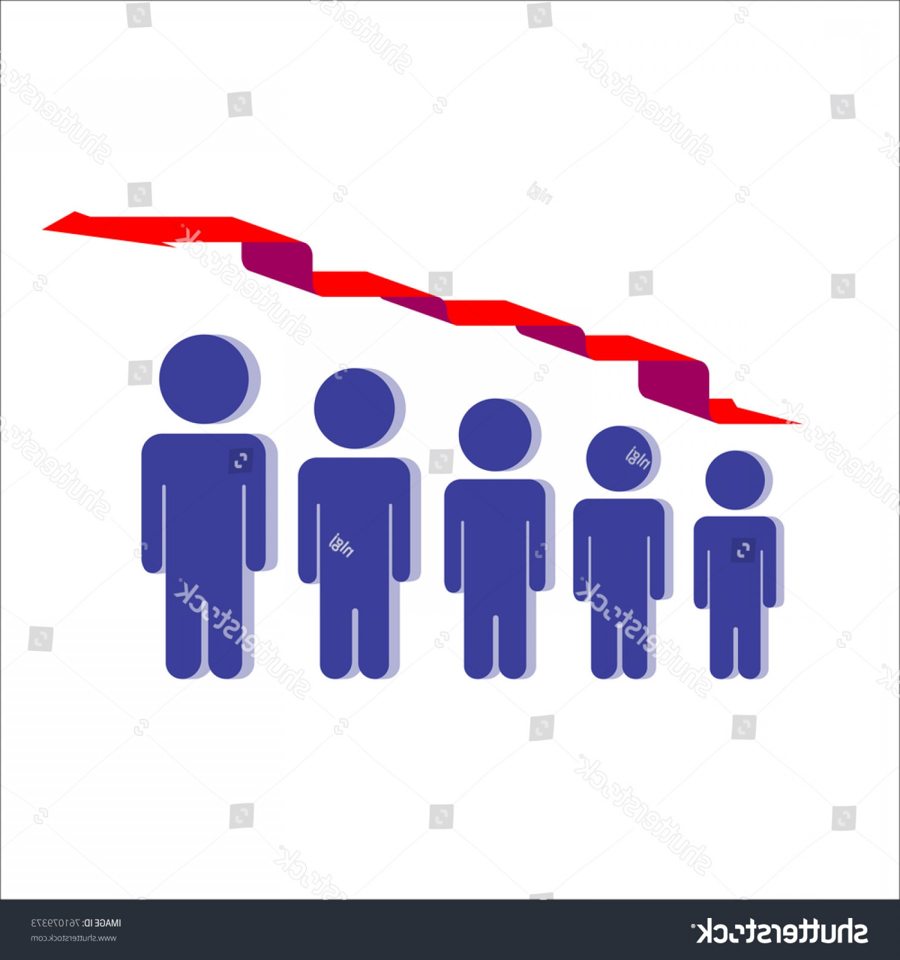 Growth Vector People: People Development Growth Vector Illustration