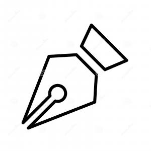 Pen Tool Icon Vector: Pen Tool Icon Vector Illustration Image