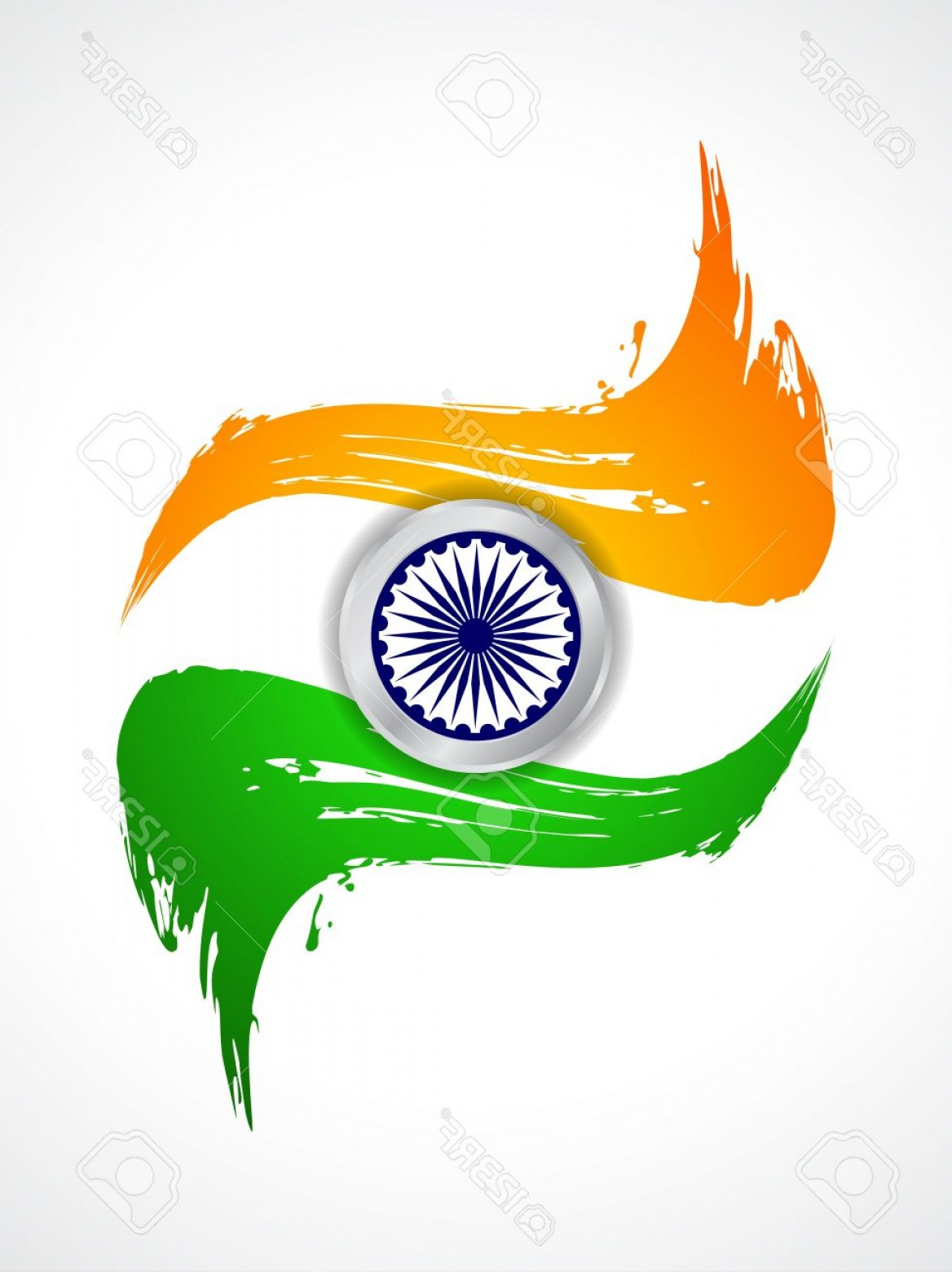 India Flag Vector: Photobeautiful Indian Flag Theme Background Design