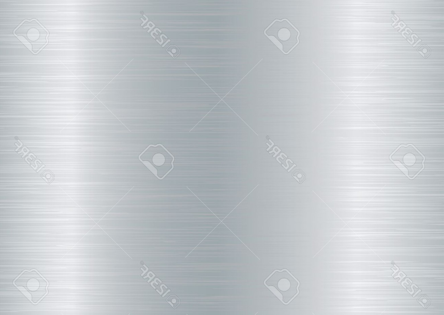 Sheet Metal Effect Vector: Photobrushed Aluminium Background With Grain Effect And Silver Colour