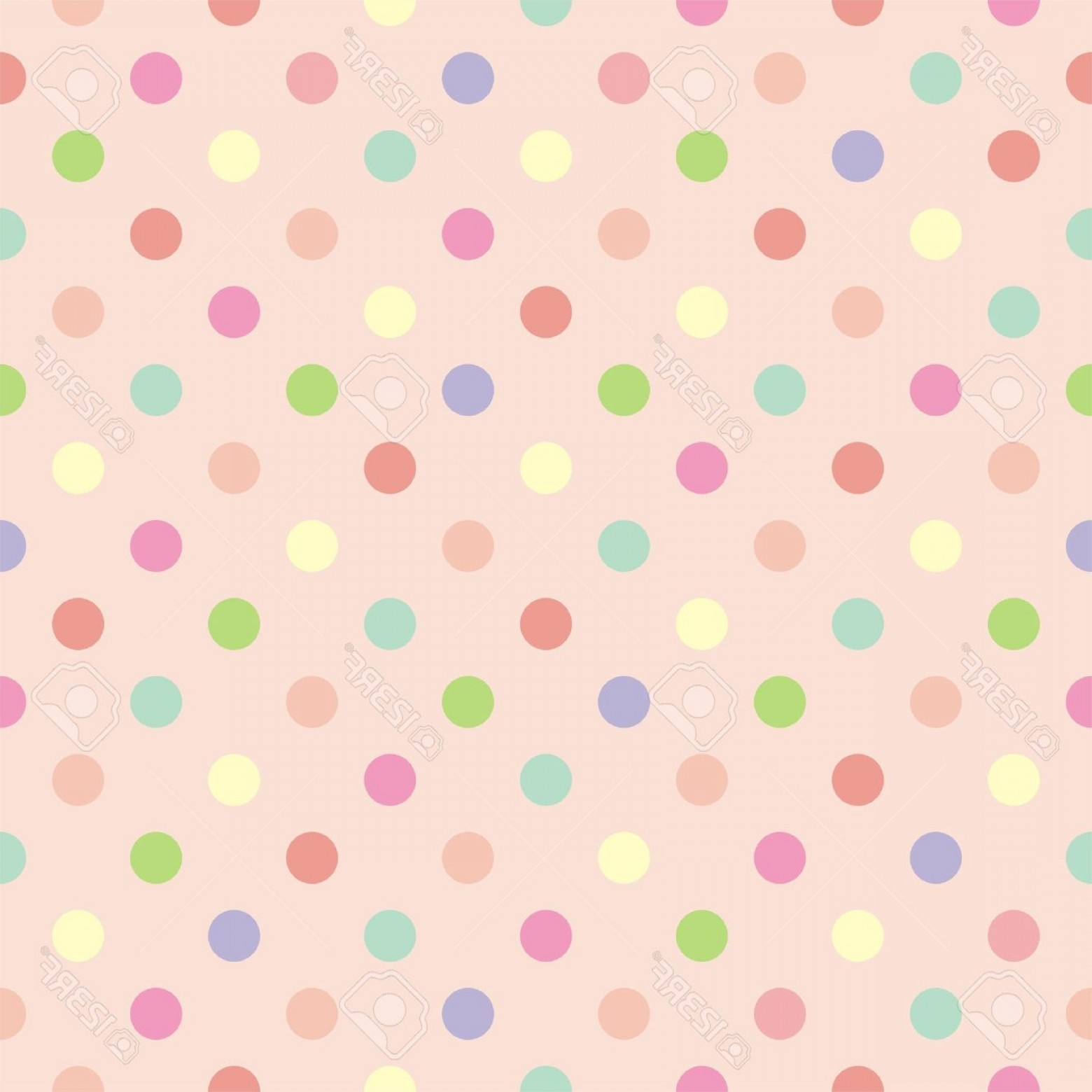 polka dot background vector y photocolorful vector background with red pink green blue and yellow