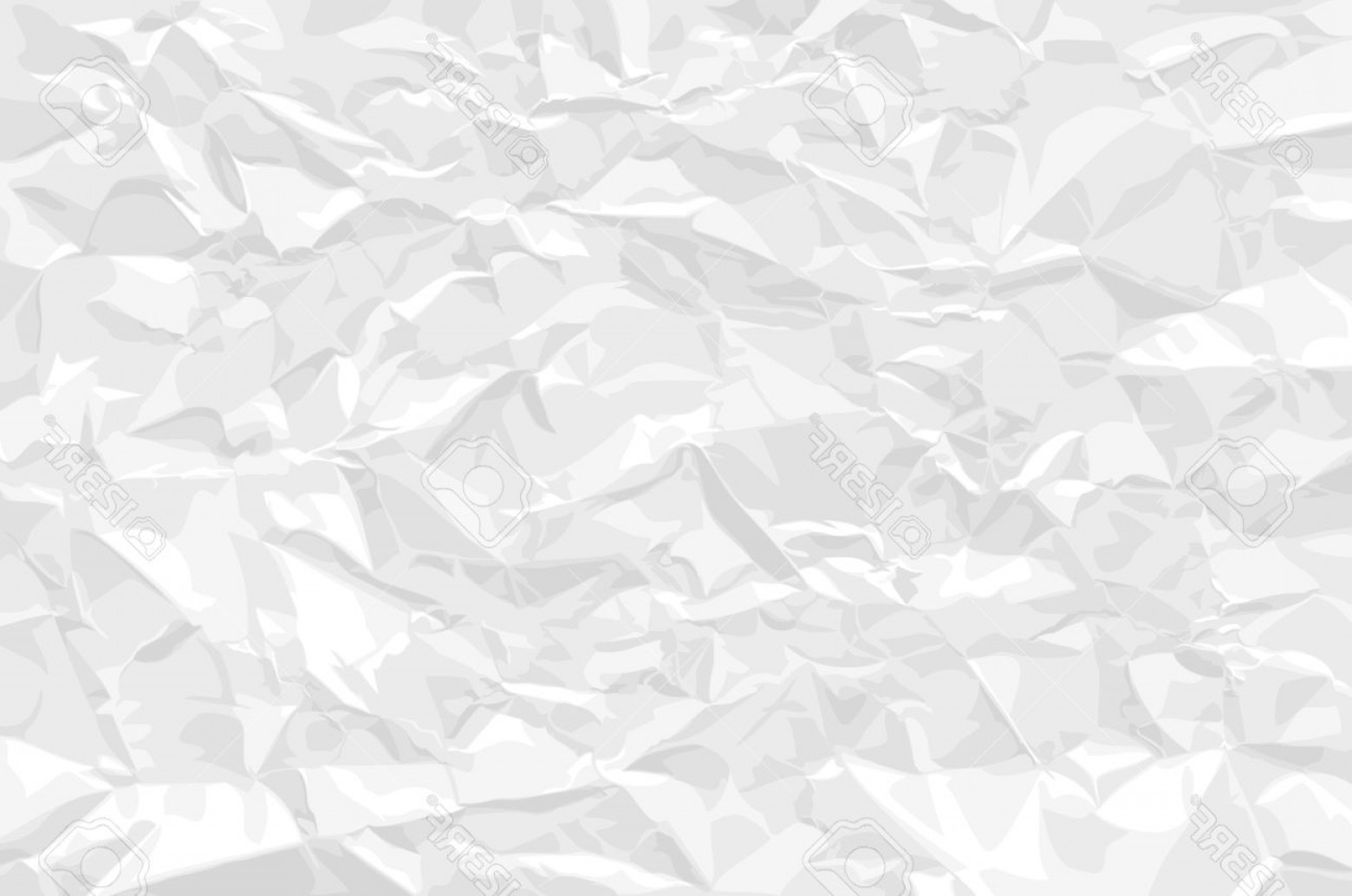 Crinkled Paper Vector: Photocrumpled Paper Background With Adjustable Colors