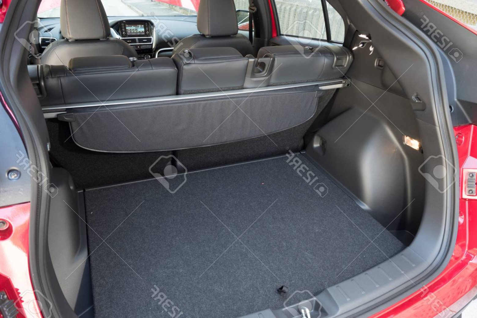 Mitsubishi Eclipse Vector: Photohong Kong China March Mitsubishi Eclipse Cross Trunk March In Hong Kong
