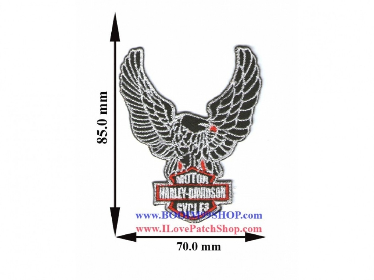 Harley-Davidson Flame Vector Silhouette: Photohwr Harley Davidson Eagle Logo Vector
