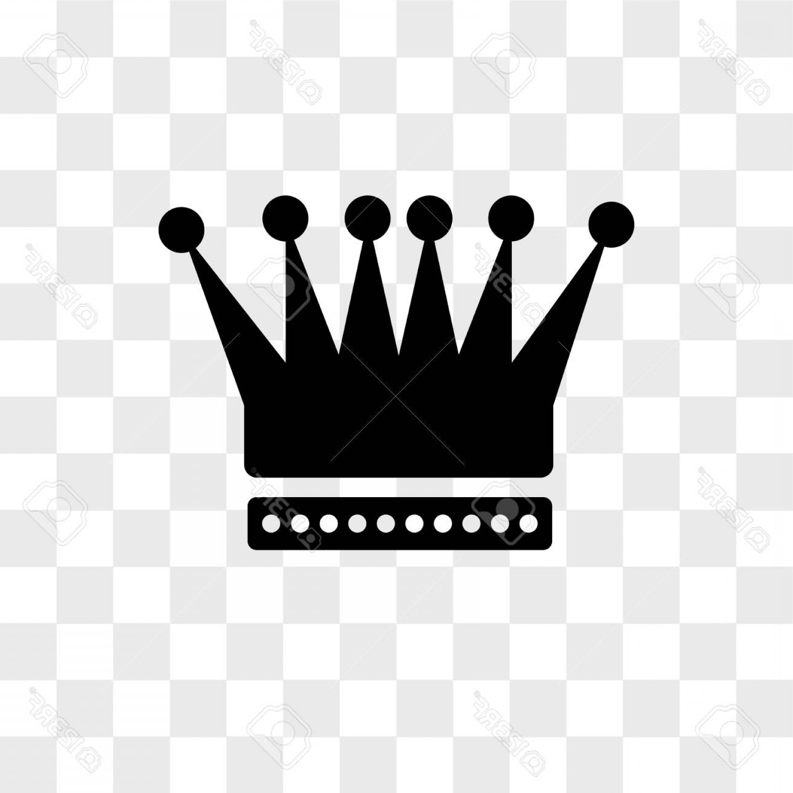 Transparent Queen Crown Vector: Photoking Crown Vector Icon Isolated On Transparent Background King Crown Logo Concept