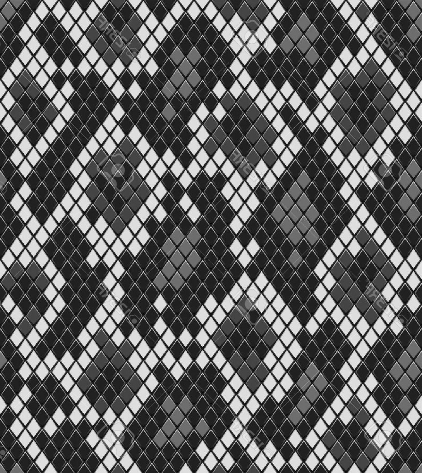 Alligator Skin Texture Vector: Photosnake Reptile Or Crocodile Skin Seamless Pattern In Shades Of Grey Vector