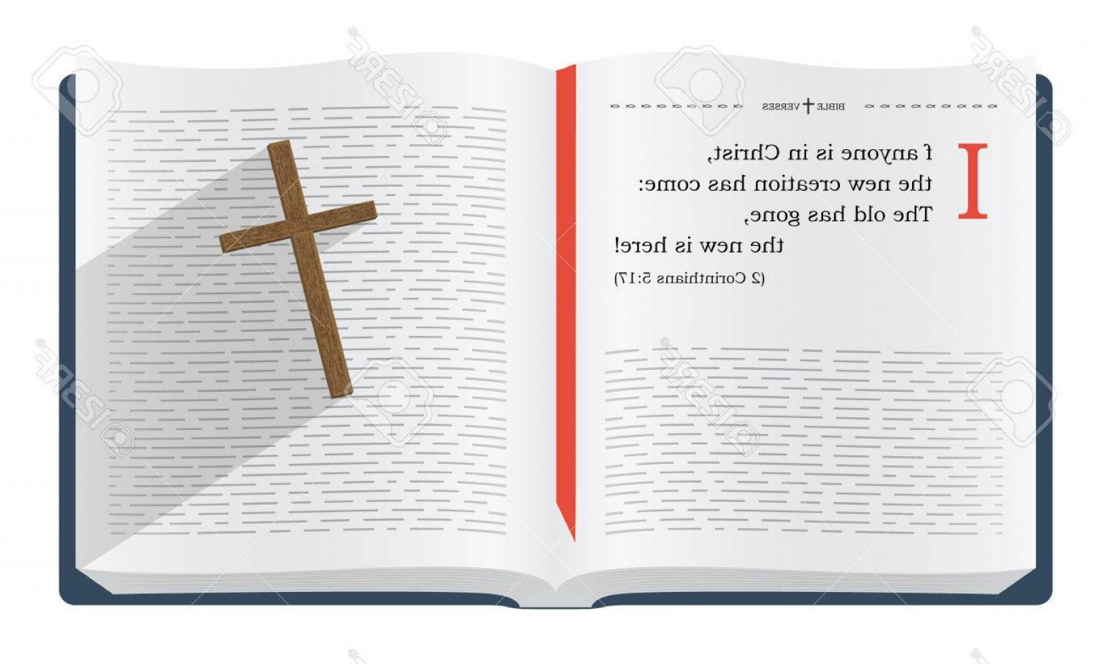 Bible Class Background Vector: Photostock Illustration Best Bible Verses To Remember John About How We Become New Creation In Jesus Christ Holy Scrip