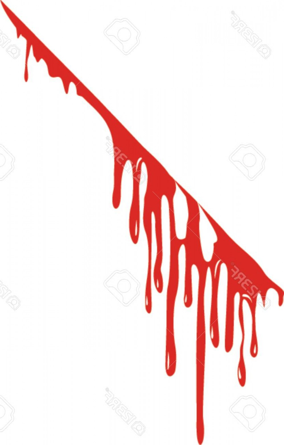 Vector Blood: Photostock Vector A Vector Of Blood Drops Vector Dripping Blood Vector Illustration