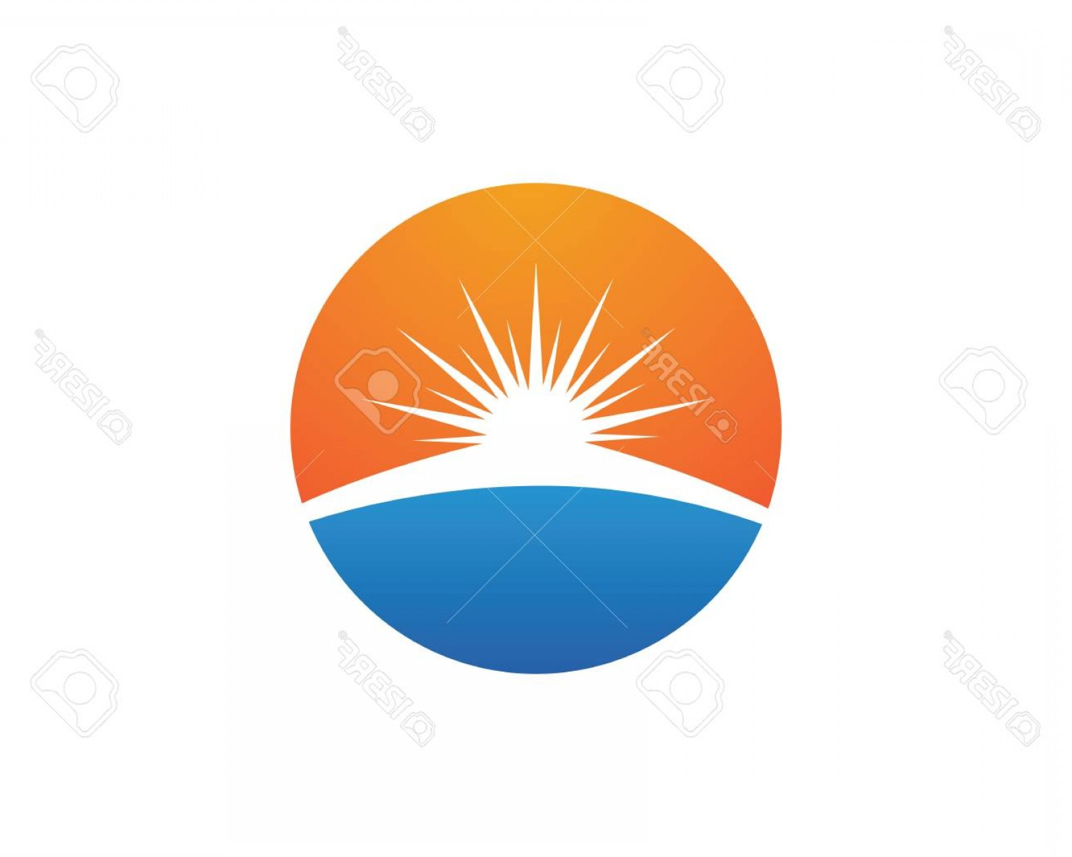 Christian Vector Sun: Photostock Vector A Vector Sun Burst Star Icon