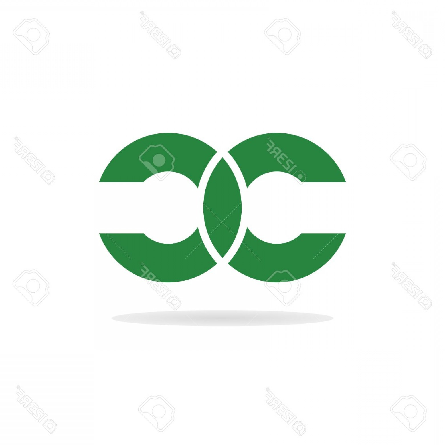 Log C Vector: Photostock Vector Abstract Letters C And C Logo Template Double Letter C Letter Logo Letters C And C Icon Business Log