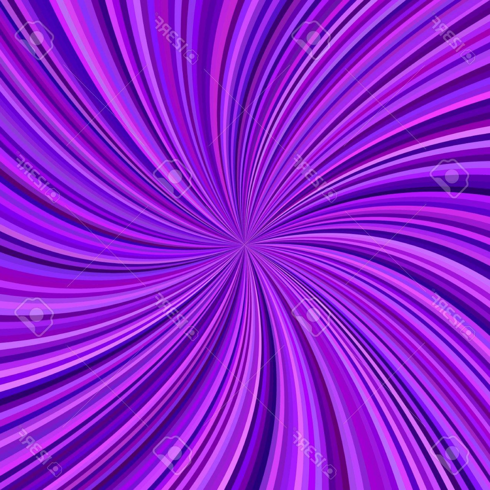 Violet Swirl Design Vector: Photostock Vector Abstract Purple Swirl Background From Curved Spiral Ray Stripes Vector Graphic