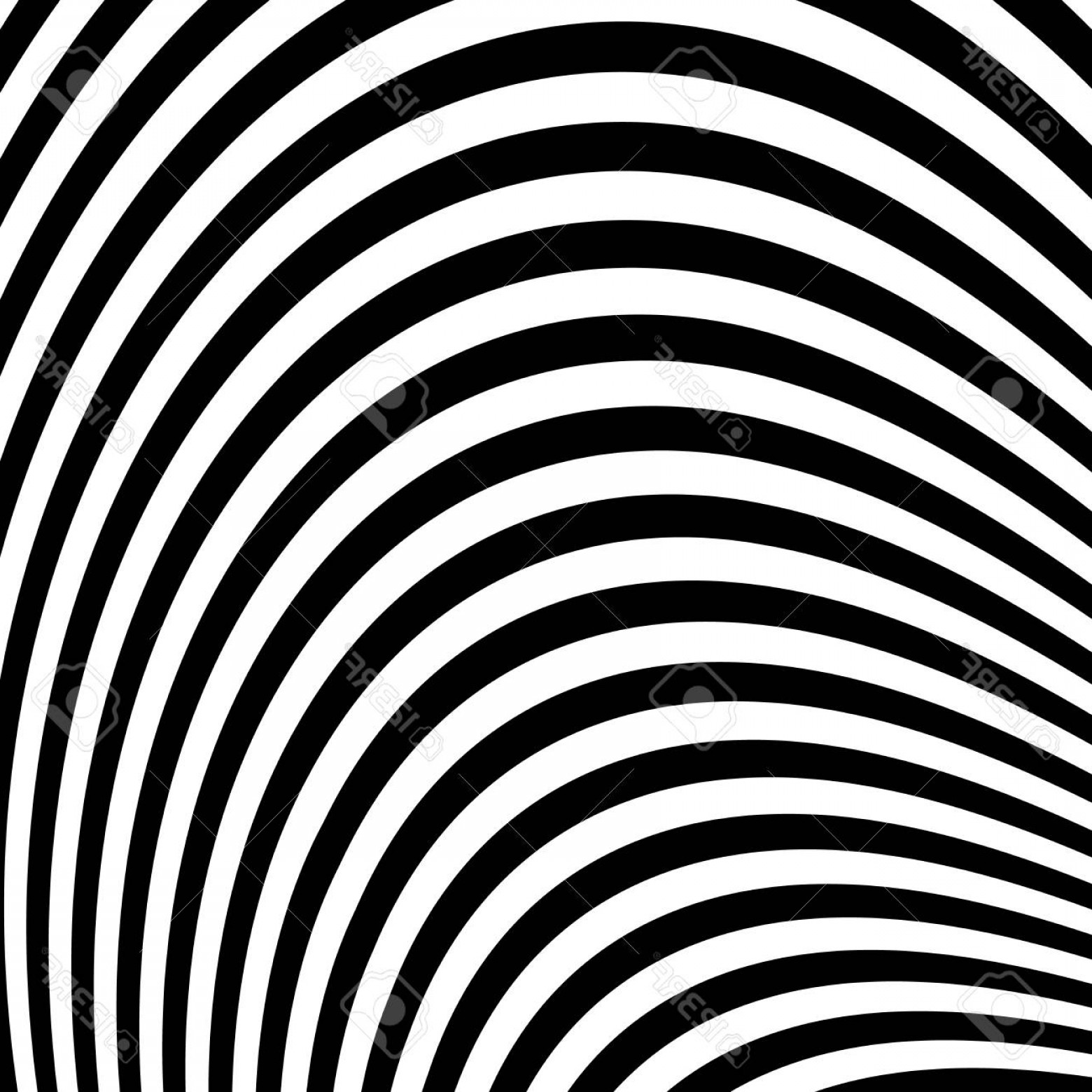 Black Abstract Lines Vector: Photostock Vector Abstract Vector Background Of Waves Optical Illusion Black And White Line Art Wave Icon Optical Art